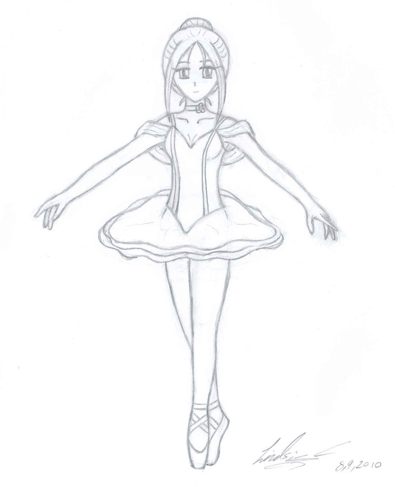 800x986 Ballet Dancer Drawing Ballet Dancer Drawing How To Draw