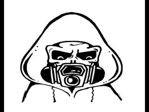 480x360 How To Draw A Gas Mask