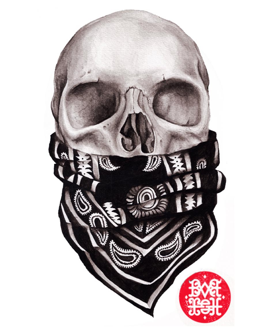 934x1157 Collection Of Bandana Over Mouth Drawing High Quality, Free