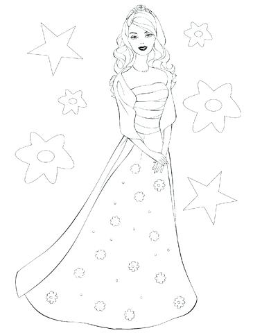 365x480 Barbie Doll Colouring Pages Barbie Doll Coloring Pages Baby Doll