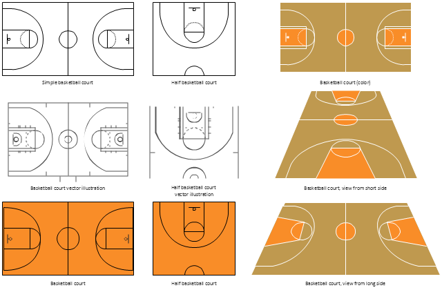 640x420 How To Make A Basketball Court Diagram Basketball Court