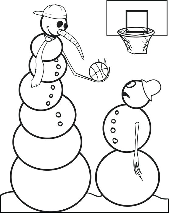 556x700 Printable Basketball Perfect Sports Teams Coloring Pages Print