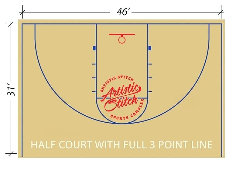 800x560 Half Basketball Court Court Pic Dimensions Basketball Court Length