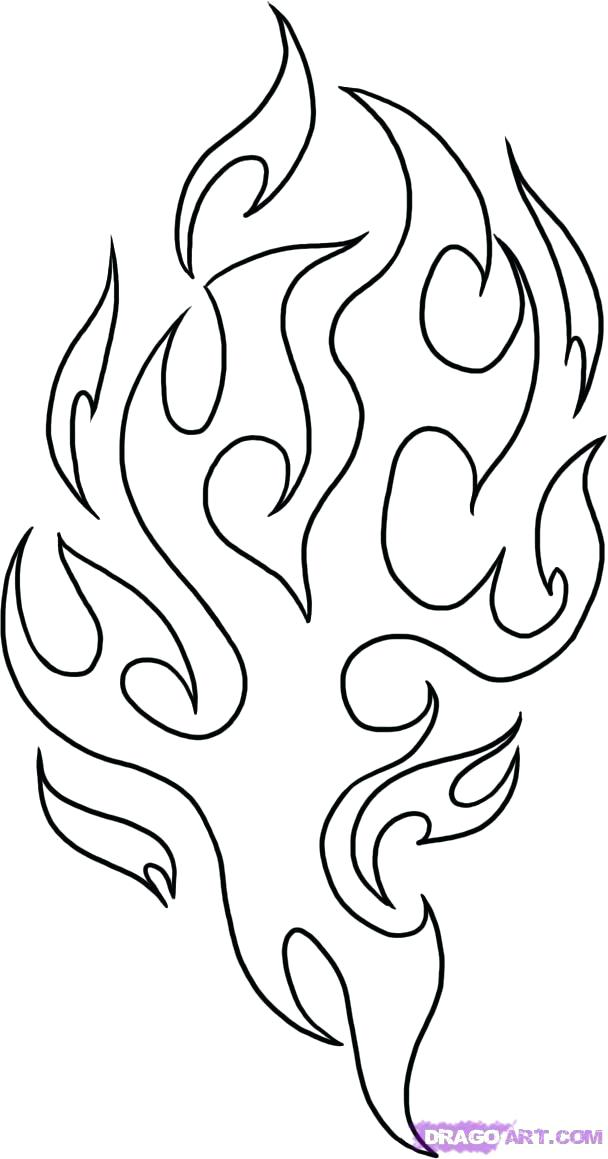 608x1159 Flames Coloring Pages Flames Coloring Pages Fire Truck Coloring