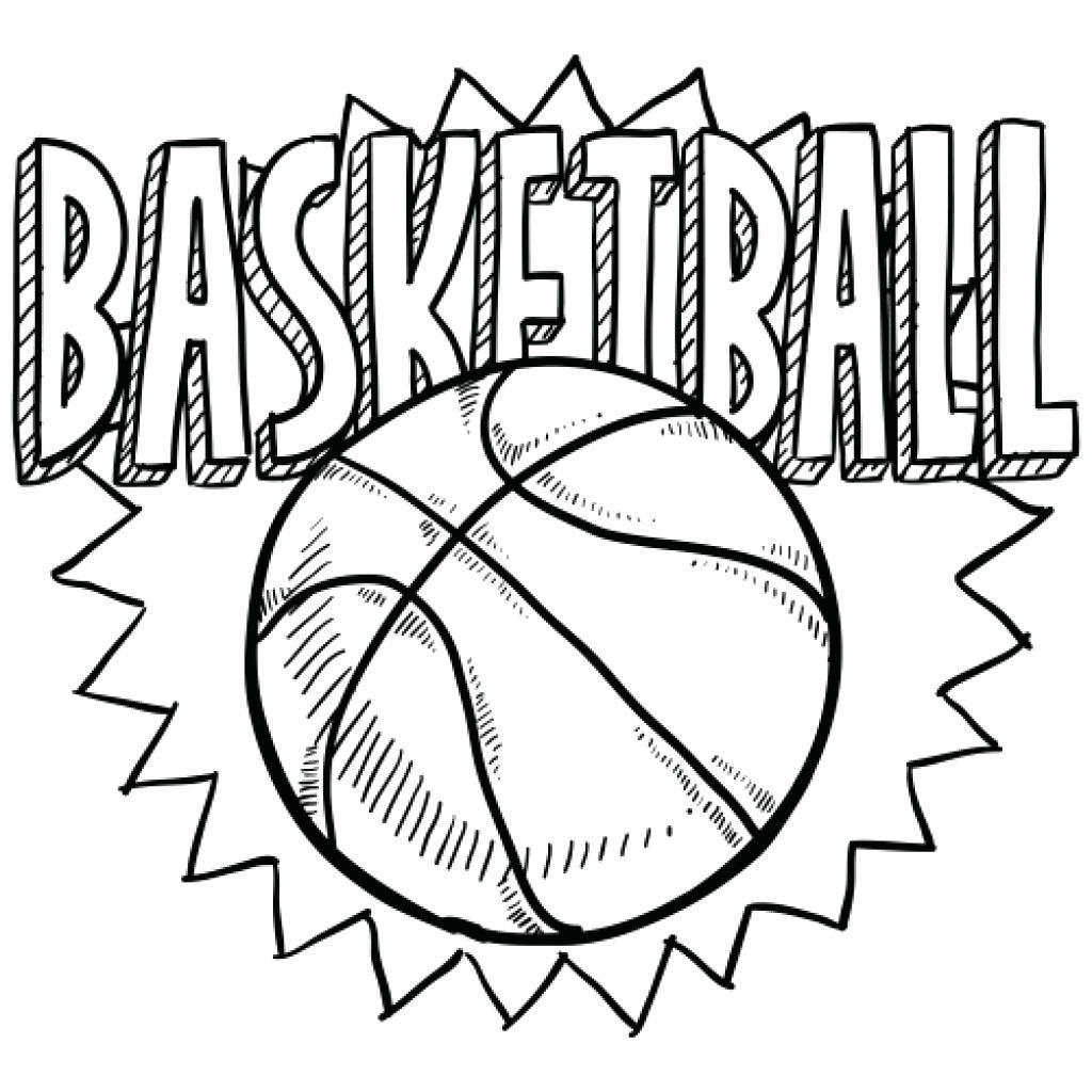 1024x1024 Happy Basketball Coloring Pages To Print Ideas For You Basketball