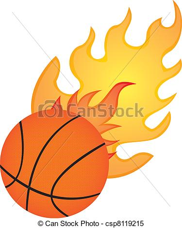 375x470 Collection Of Fire Basketball Drawing High Quality, Free