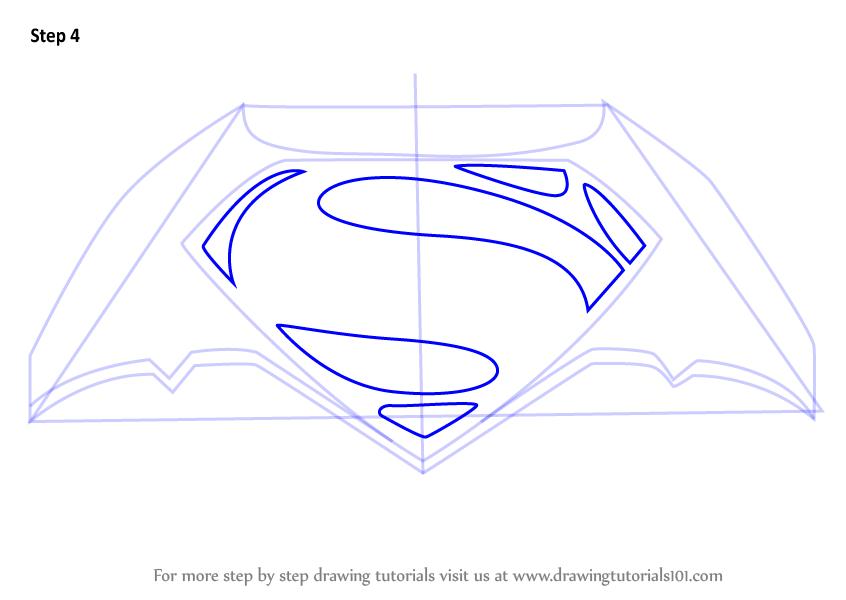 Batman Vs Superman Logo Drawing At Getdrawings Free For