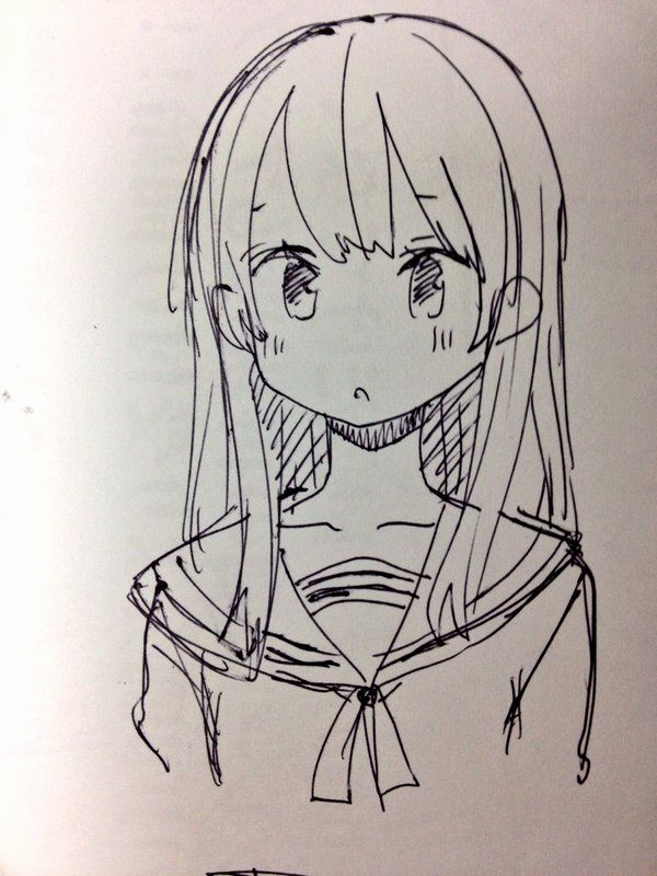 Beautiful Anime Girl Drawing At Getdrawings Com Free For Personal