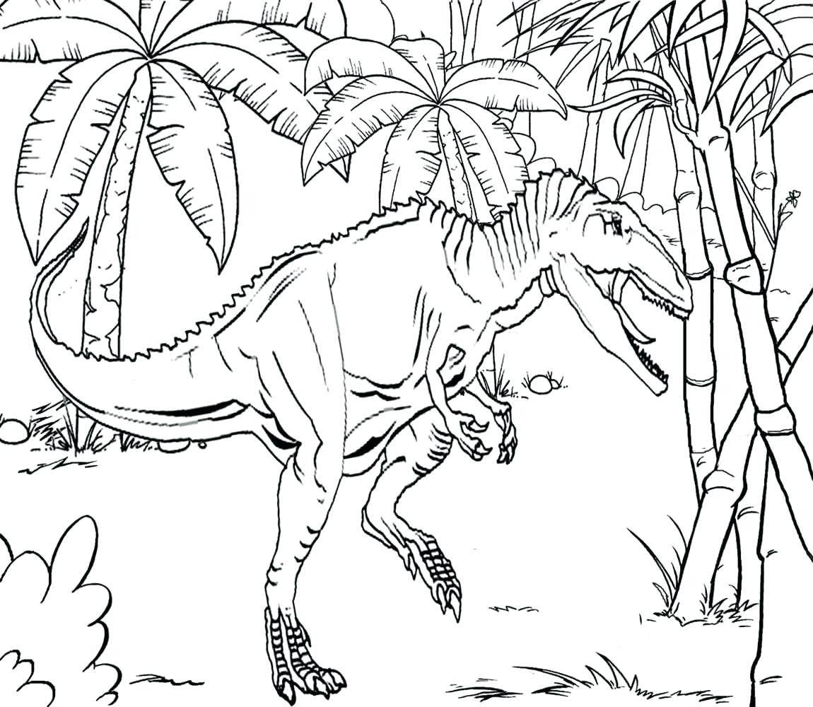 1150x1000 Nature Coloring Pages Jungle Animal Scene Scenery Beautiful