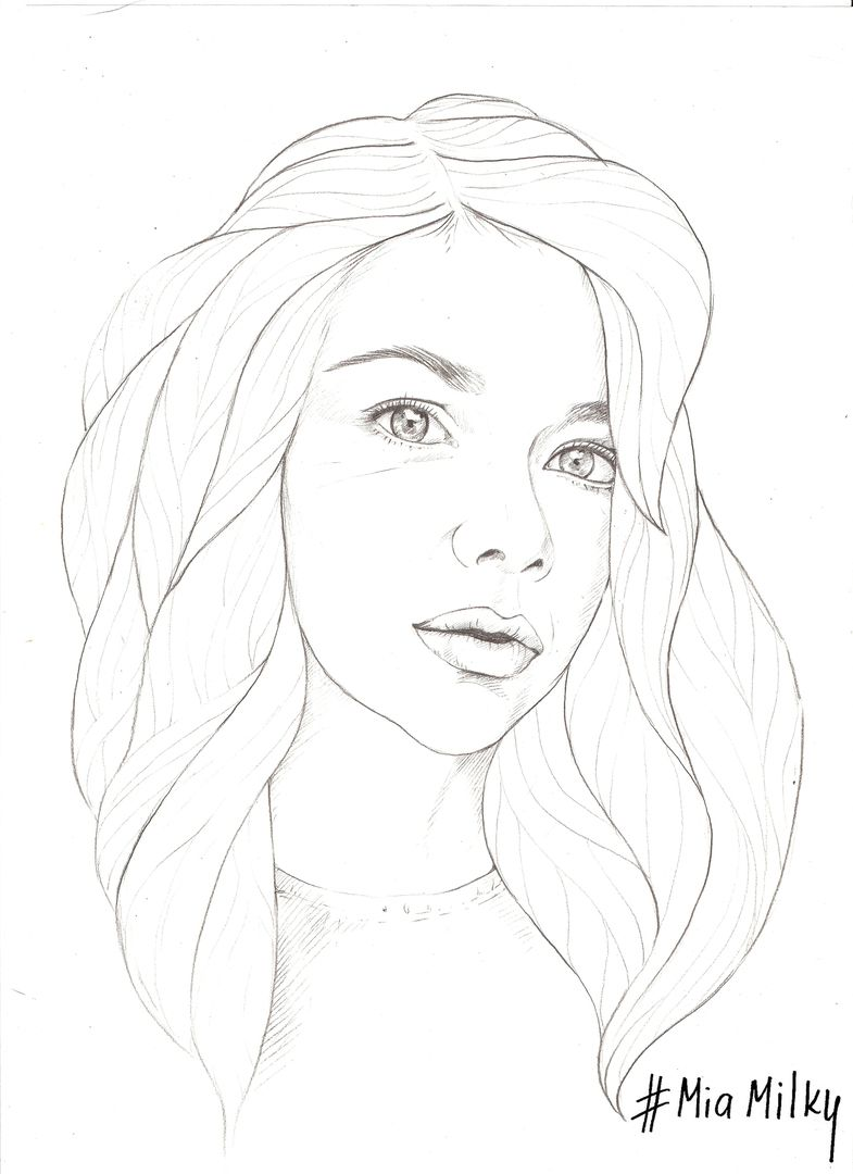 785x1080 New Sketch For My Fashion Illustration Project With Girls