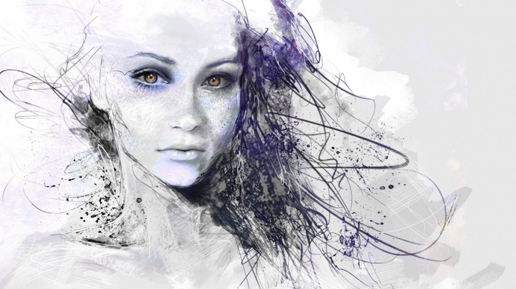 1024x575 Beautiful Face Drawing Girl Face Drawing Face Drawings