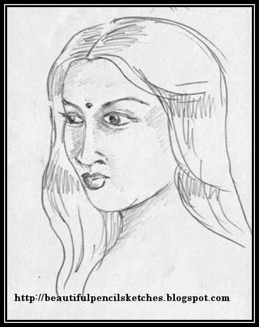 Beautiful Girl Face Drawing At Getdrawings Com Free For Personal