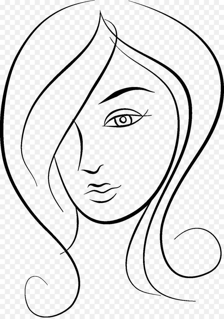 900x1280 Beauty Parlour Woman Drawing Clip Art
