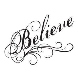 Believe Drawing