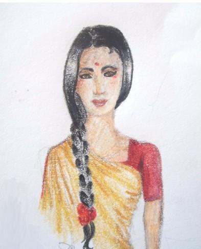 393x486 Bengali Girl By Mikanami