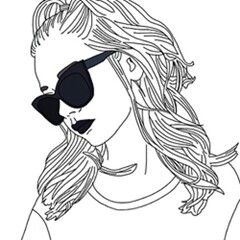 240x240 23 Best Drawing Of Girls Images On Drawings, Outlines