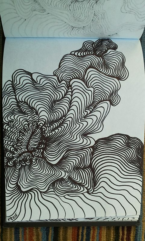 481x800 101 Best Lines Drawing Images On Abstract Art
