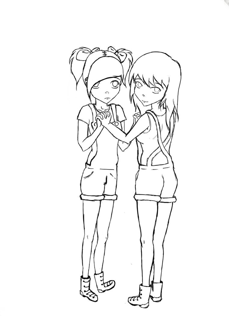 761x1049 Collection Of Friends Line Drawing High Quality, Free