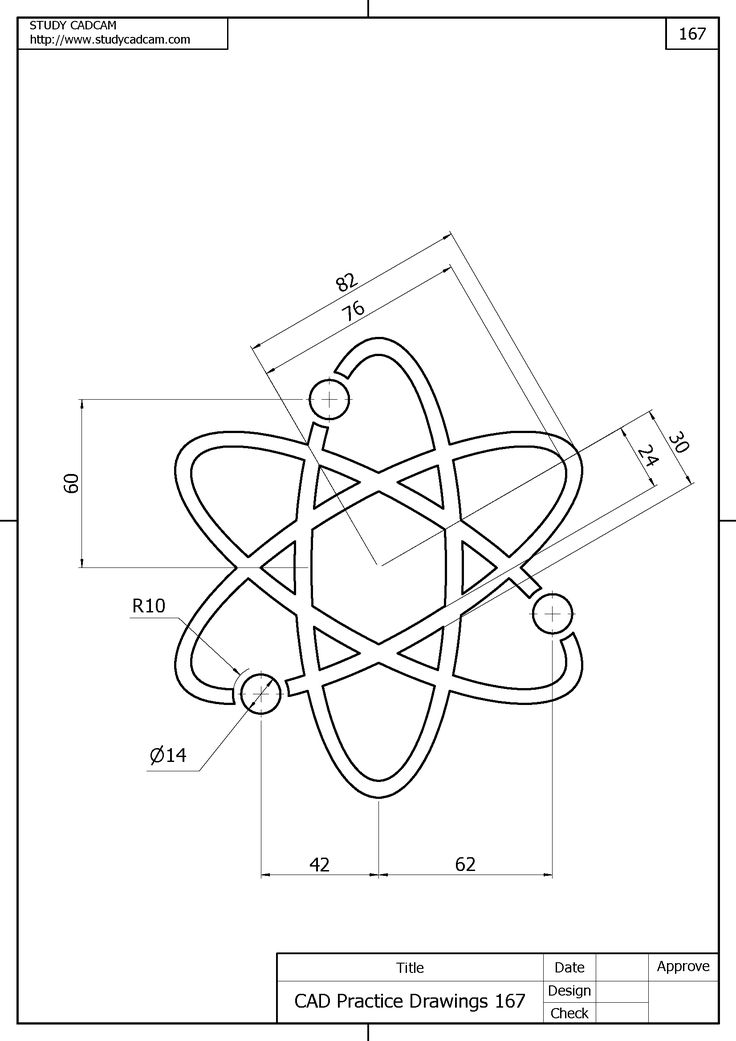 Bike Drawing In Autocad