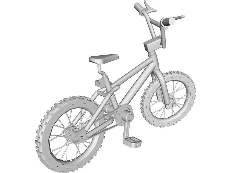 800x600 Bike 3d Cad Model