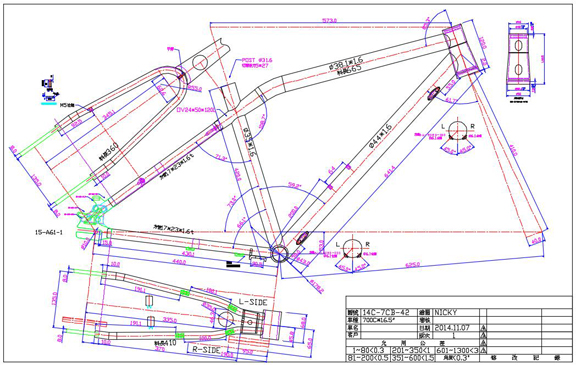 576x365 Collection Of Bike Autocad Drawing High Quality, Free