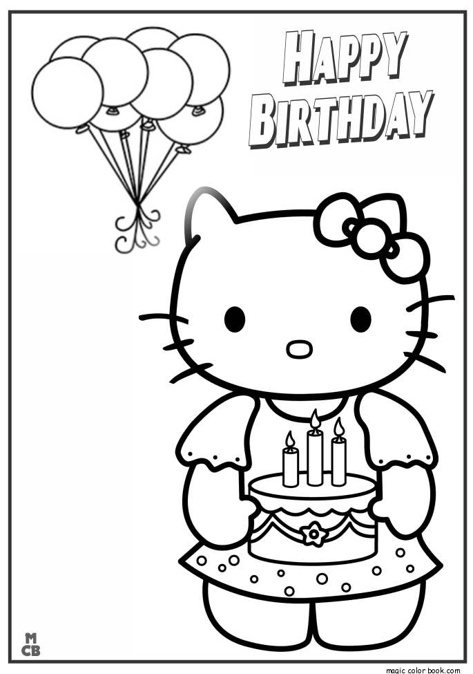 685x975 Collection Of Happy Birthday Wishes Drawing High Quality