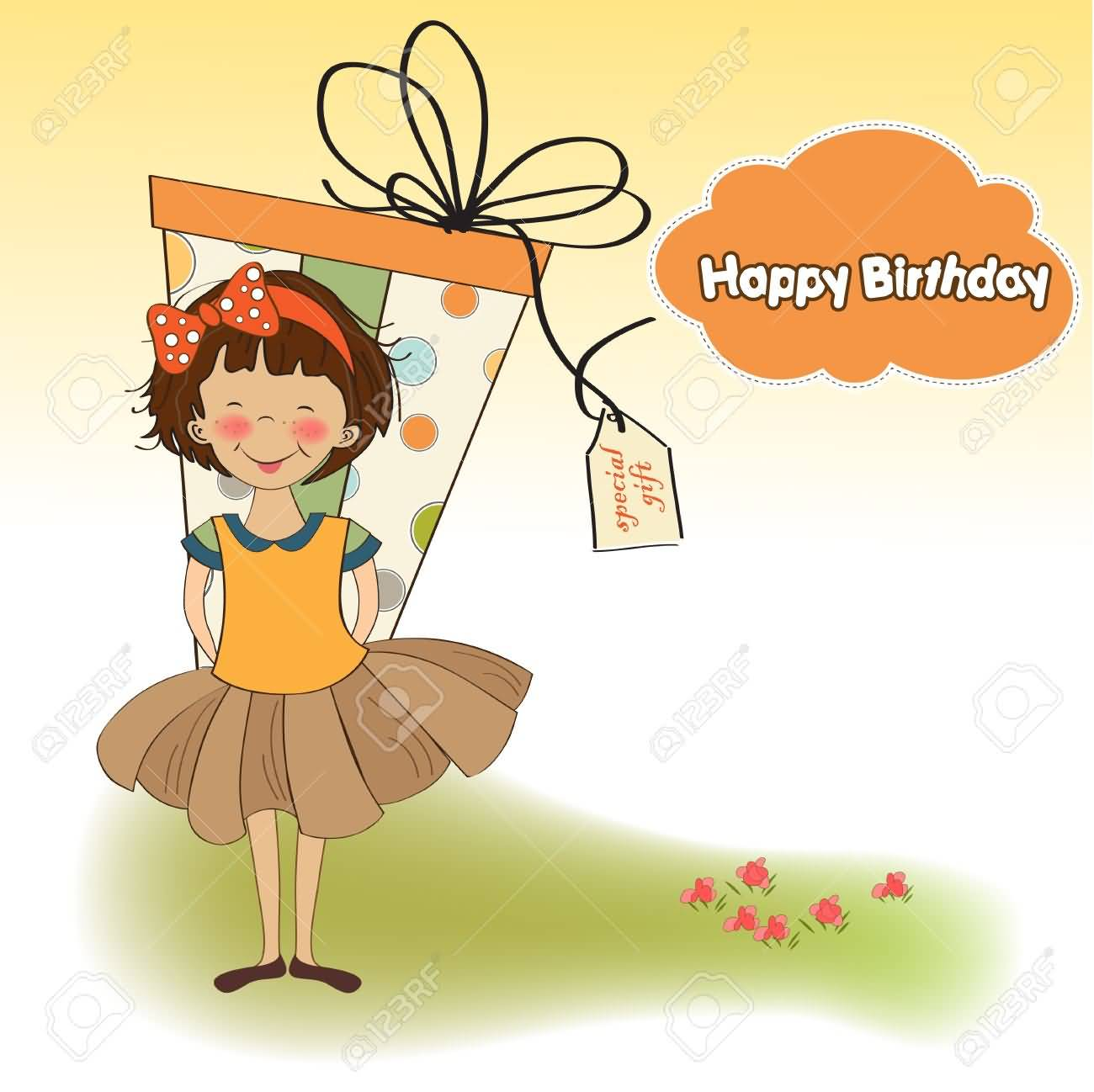 1300x1298 awesome drawing birthday wishes for sweet girls