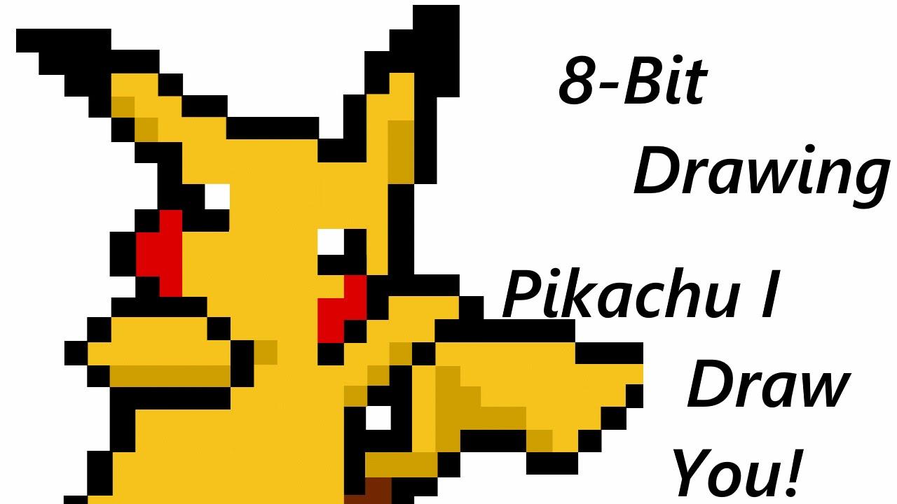 1280x720 8 Bit Drawing Episode 1 Pikachu, I Draw You!