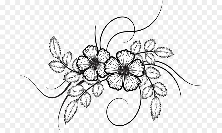 900x540 Flower Drawing
