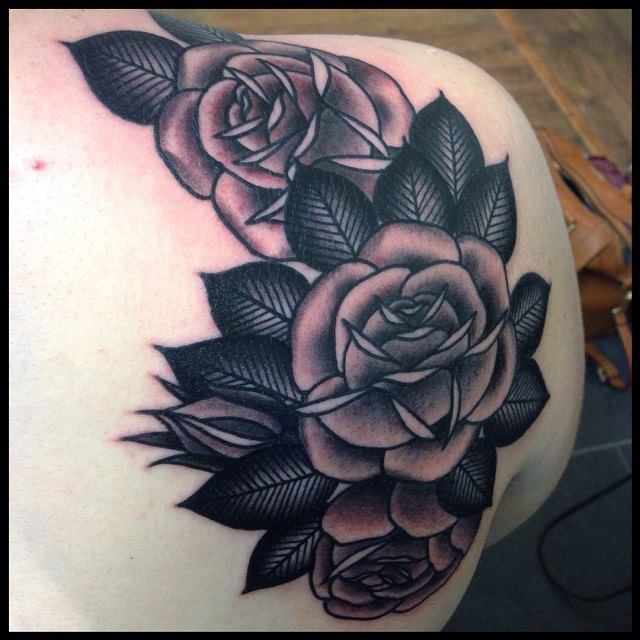 640x640 Gallery Black And Grey Roses,