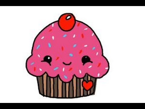 480x360 How To Draw A Cute Cupcake