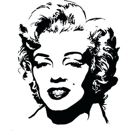 500x500 Marilyn Monroe Coloring Pages Best Of Images Gangster For Kids
