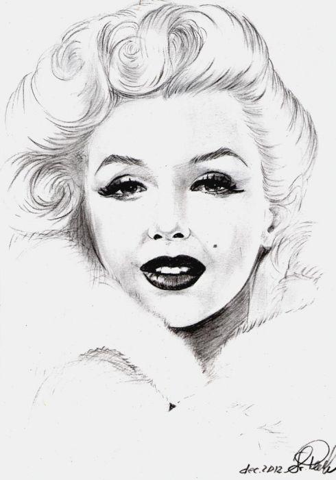 490x700 Marilyn Monroe By Svetliaciok This Image First Pinned To Marilyn