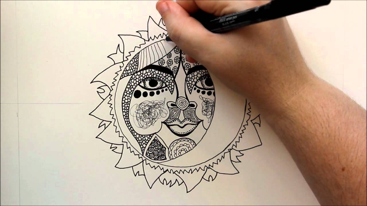 1280x720 How To Draw A Celestial Sun