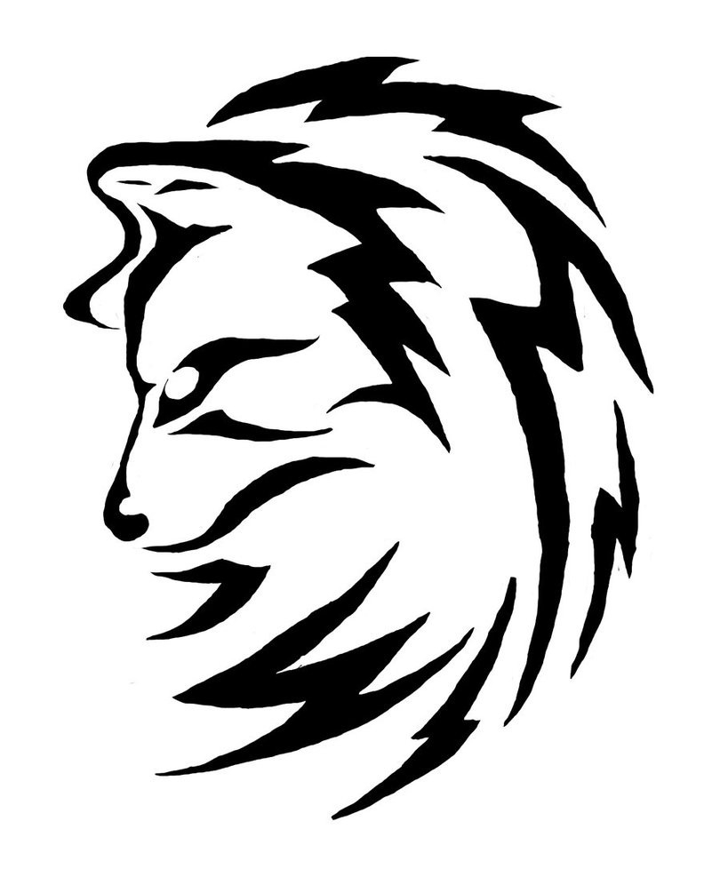810x987 Simple Black And White Drawing Ideas Simple Tribal Animal