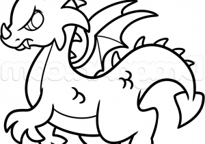 300x210 Drawing Of A Dragon Easy