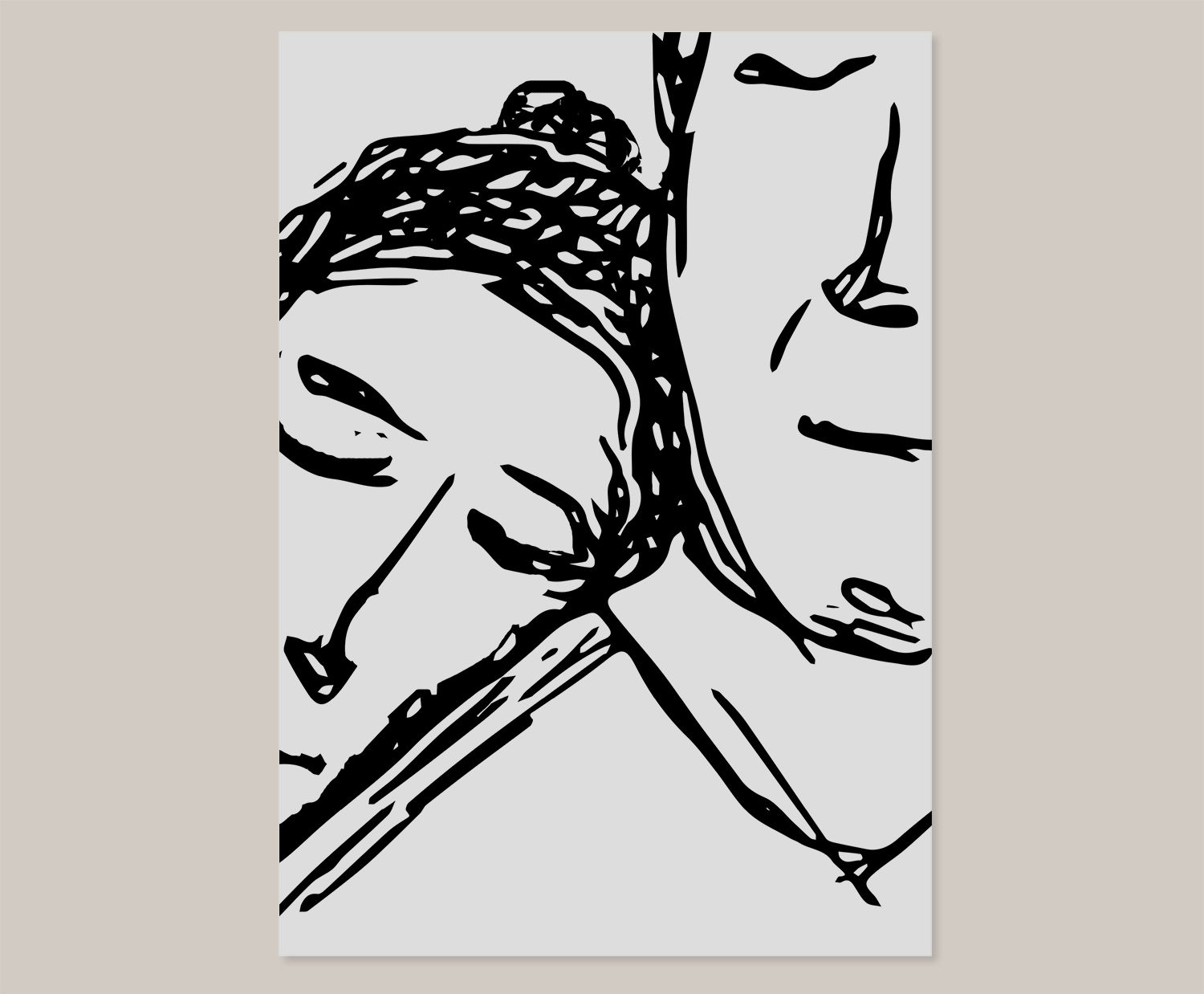 1500x1238 Poster Of A Cute Couple. Line Drawing. Simple Amp Minimal Design