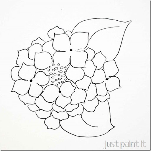 512x512 Paint Hydrangea