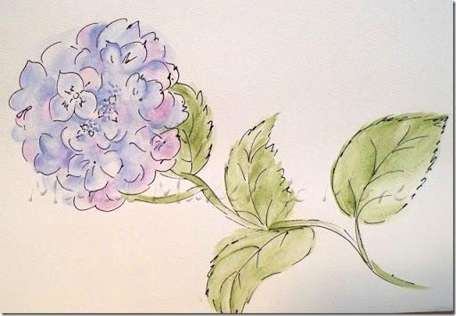 512x355 Paint Hydrangea Three Ways!