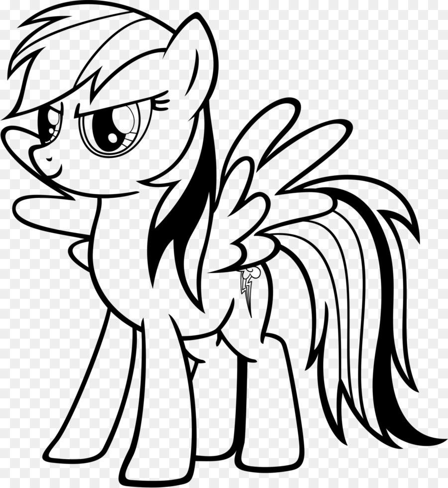 900x980 Rainbow Dash My Little Pony Applejack Coloring Book