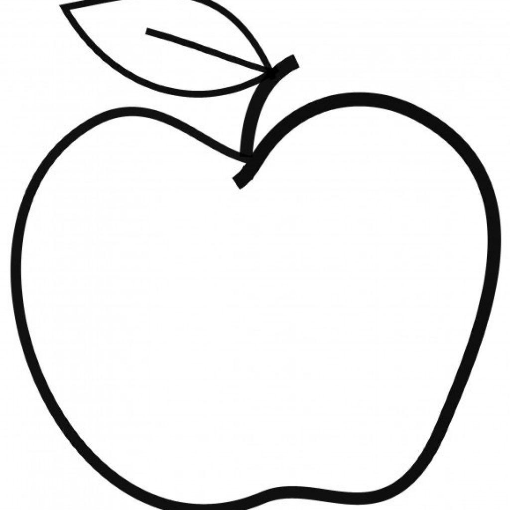 1024x1024 Apple Clipart Black And White Rainbow Hatenylo Com