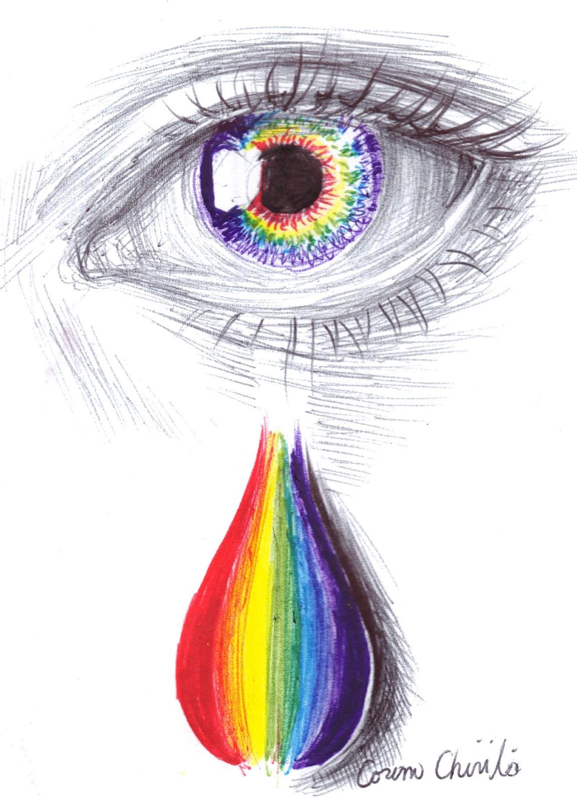 1151x1600 Art The Art Of Corina Rainbow Tears