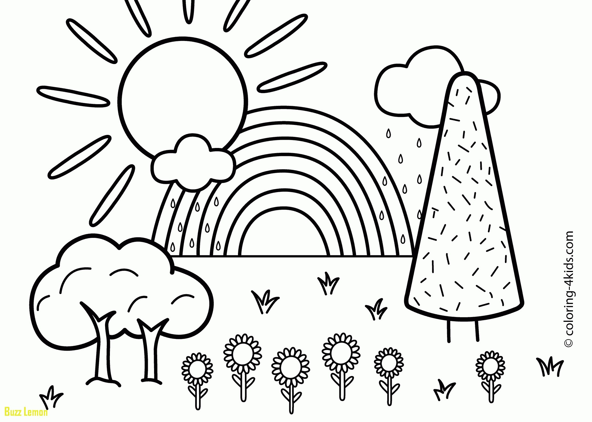2079x1483 Drawing Pictures For Kids New Drawing For Kids New Timely Rainbow