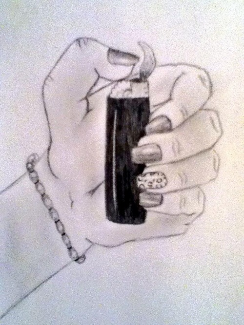 500x667 Lighter Drawing Via Tumblr On We Heart It