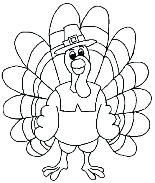 526x620 Coloring Pages ~ Thanksgiving Turkey Coloring Pages A Good Stock