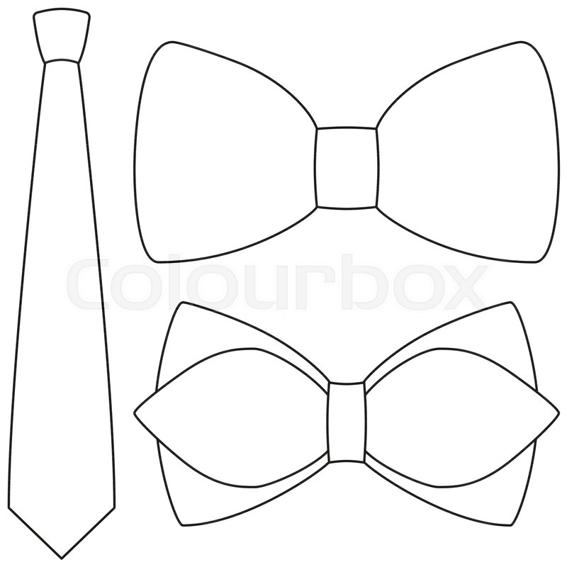 800x800 Icon Line Art Poster Man Father Dad Day Bow Tie Hipster Set