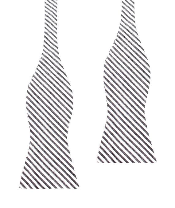 570x675 Men's Cotton Bow Tie Self Tie Untied Bowtie Black