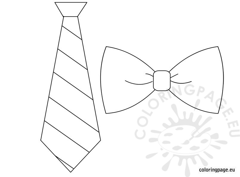804x595 Bow Tie Template