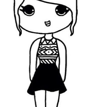 Black Girl Drawing Cartoon At Getdrawings Free Download