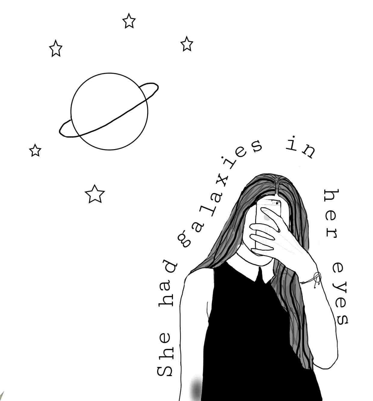 Drawing Grunge Outline Outlines Tumblr Artline Artlines T